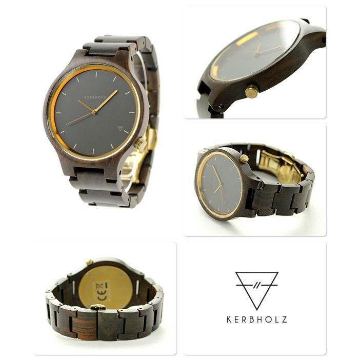a2cc5d0756 カーボルツ ランプレヒト 木製 ユニセックス 腕時計 クオーツ 9809010 ...