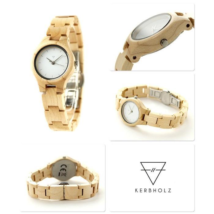 3662745059 カーボルツ アーデルハイト 木製 レディース 腕時計 クオーツ 9809014 ...