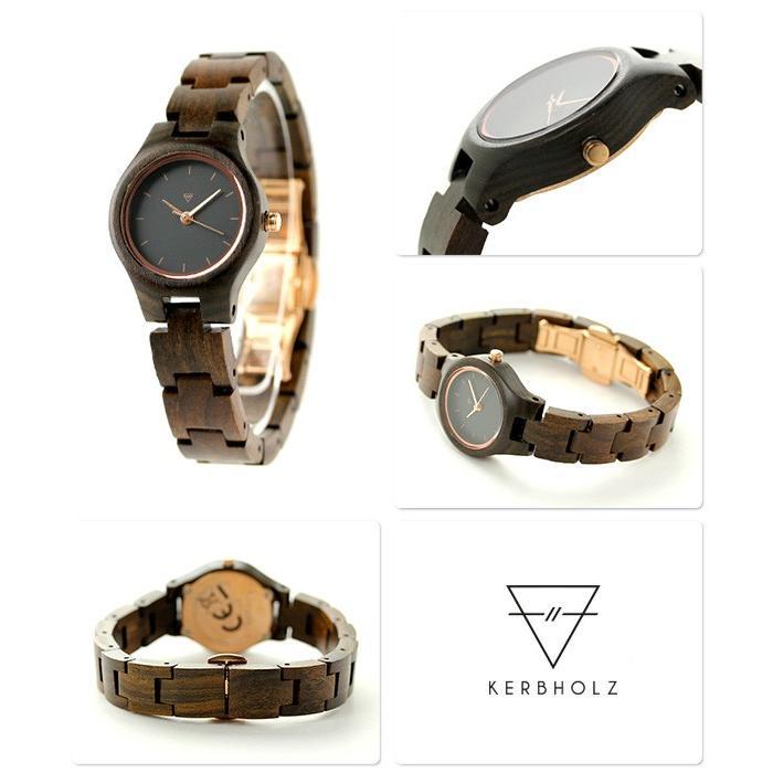 76d75b09a2 カーボルツ アーデルハイト 木製 レディース 腕時計 クオーツ 9809016 ...