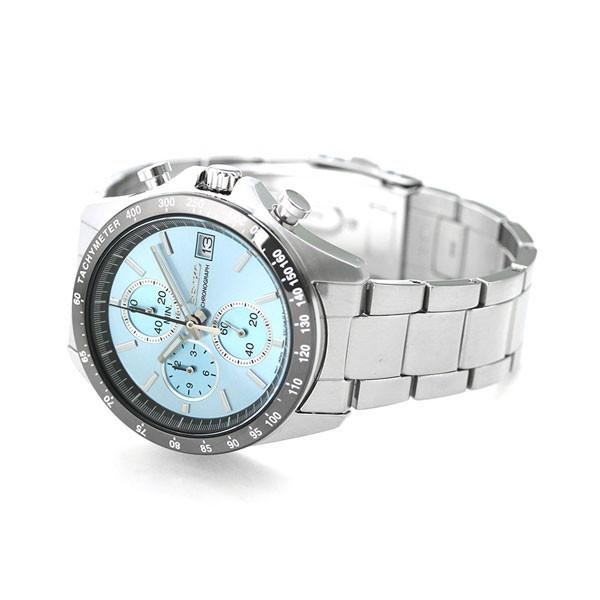 98741ef1ac ... セイコー SEIKO メンズ 腕時計 クロノグラフ 8Tクロノ ブルー SBTR029 セイコーセレクション nanaple  ...