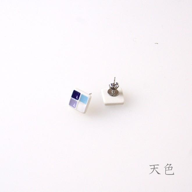 スクエア ピアス・イヤリング てのもの|nanayosha|03