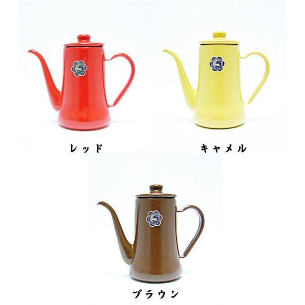 野田琺瑯 スリムポット月兎印0.7L|nanbucoffee|02