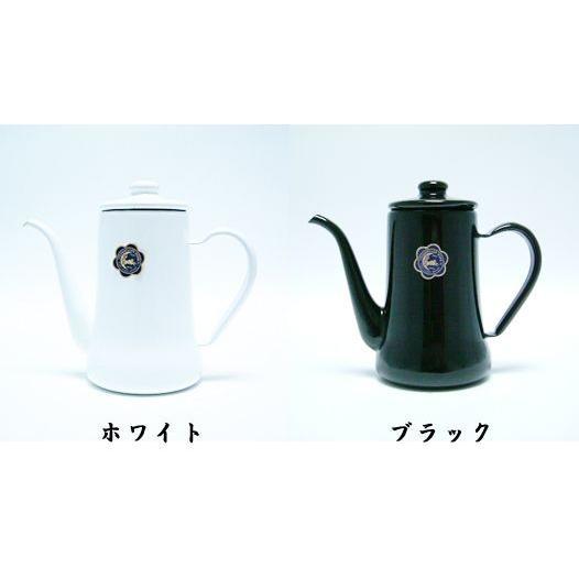 野田琺瑯 スリムポット月兎印0.7L|nanbucoffee|03