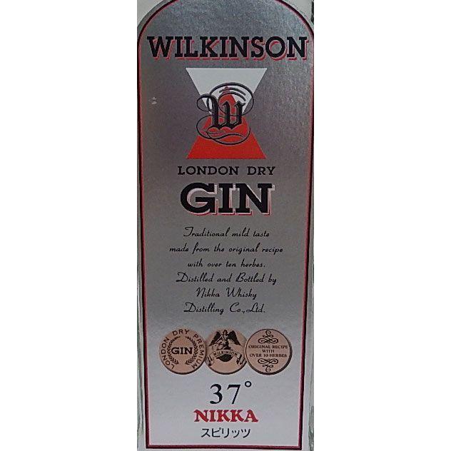 ウヰルキンソン(ウィルキンソン) ジン 720ml 37度 [正規品] Spirit gin nandemosaketen 02