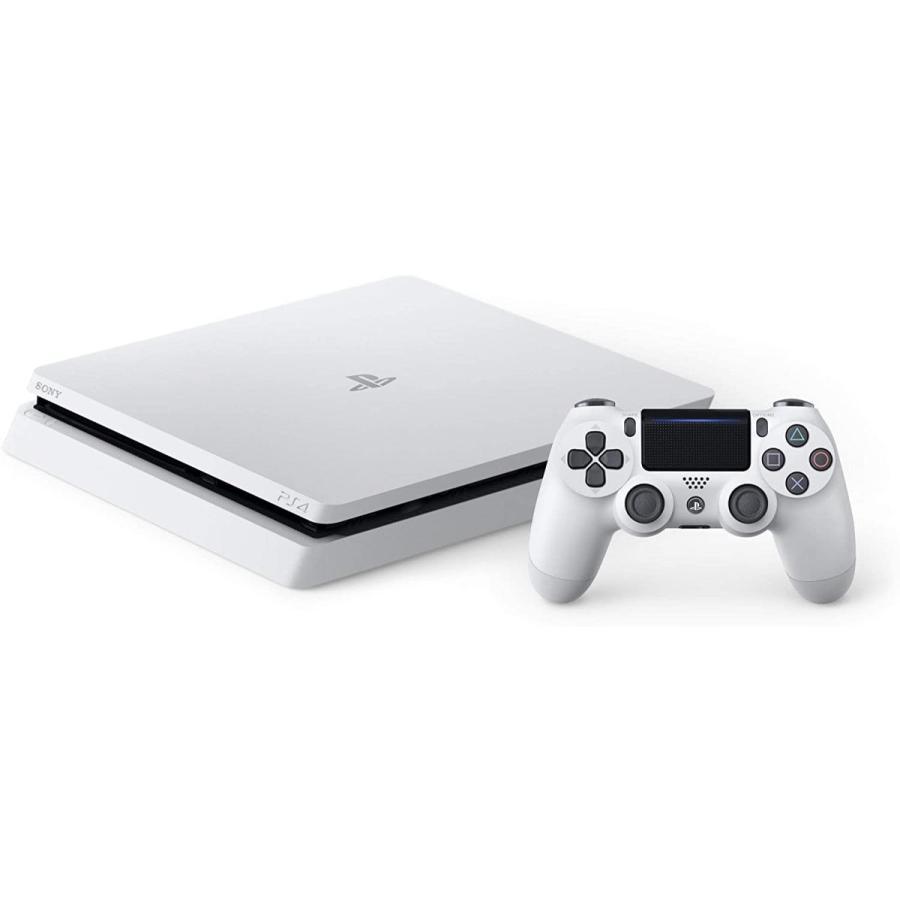 PlayStation 4 プレイステーション4 グレイシャーホワイト 500GB CUH-2200AB02 スペシャルバンドルクーポン付 おすすめソフト2本をダウンロード