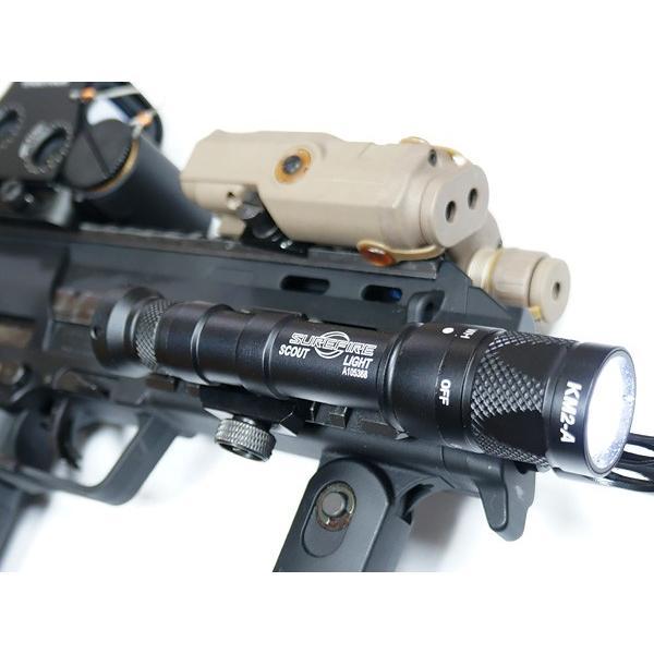エアガン ライト SUREFIREタイプ M600V フラッシュライト IRモード搭載 20mmレイル対応|naniwabase|09