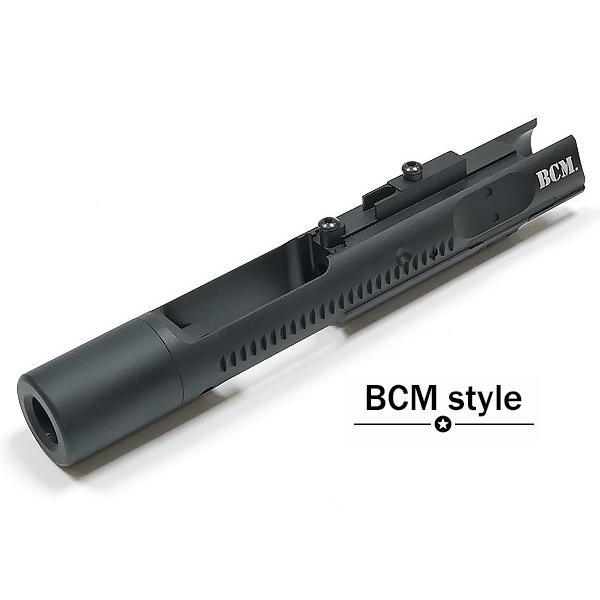 AngryGun製 東京マルイ GBB M4対応 ハイスピード ボルトキャリア BCM 刻印 6061アルミニウム製 naniwabase 04