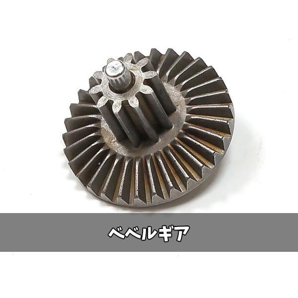 ARMY FORCE製 次世代 電動ガン 専用 強化ギア4種+ラックセット金属製 (セクター/スパー/ベベル/ピニオン ギヤ & 逆回転防止ラッチ)  ARMY-004|naniwabase|09