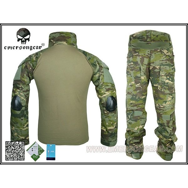 EMERSON CRYEタイプ コンバットシャツ&パンツ MCTP|naniwabase|04