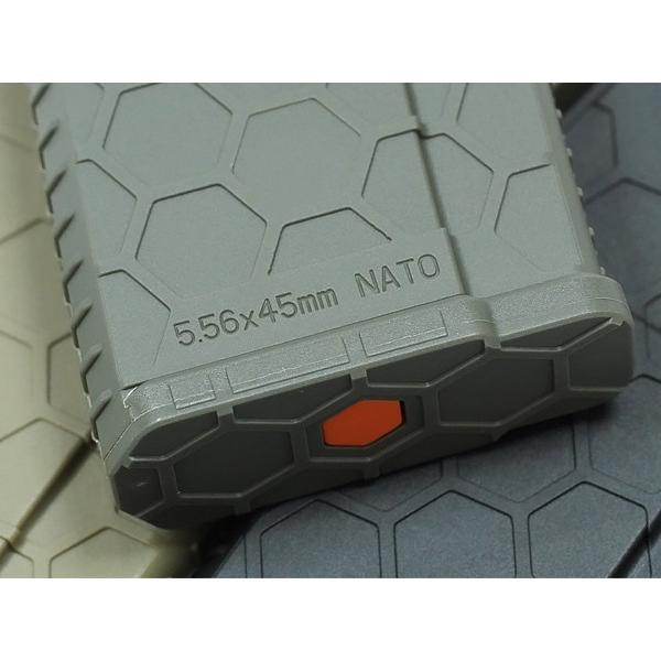 NEW!!300連の多弾ヘックスマグ登場 HEXMAG Airsoft AEG M4対応 HEXMAG 300連 多弾マガジン ポリマー樹脂製 naniwabase 12