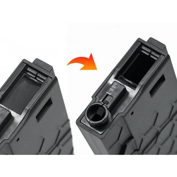 NEW!!300連の多弾ヘックスマグ登場 HEXMAG Airsoft AEG M4対応 HEXMAG 300連 多弾マガジン ポリマー樹脂製 naniwabase 13