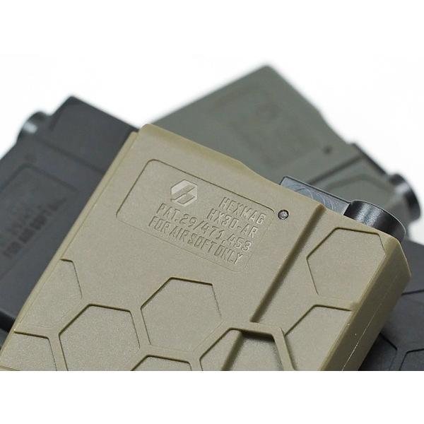 NEW!!300連の多弾ヘックスマグ登場 HEXMAG Airsoft AEG M4対応 HEXMAG 300連 多弾マガジン ポリマー樹脂製 naniwabase 09