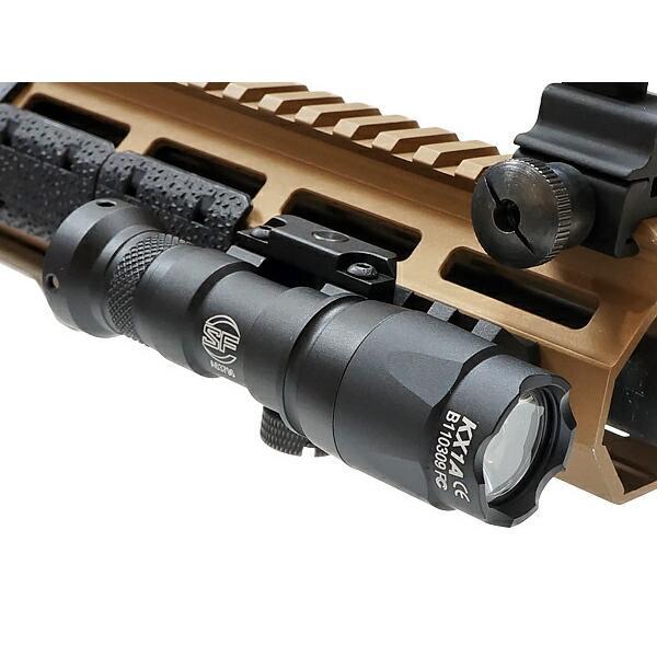 SFタイプ M300C ミニ スカウトライト リモート&プッシュスイッチ付 BK 箱入 20mmレイル対応 naniwabase 03