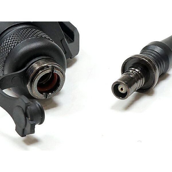 SFタイプ M300C ミニ スカウトライト リモート&プッシュスイッチ付 BK 箱入 20mmレイル対応 naniwabase 05