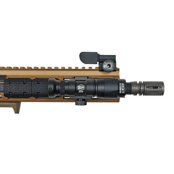 SFタイプ M300C ミニ スカウトライト リモート&プッシュスイッチ付 BK 箱入 20mmレイル対応 naniwabase 07