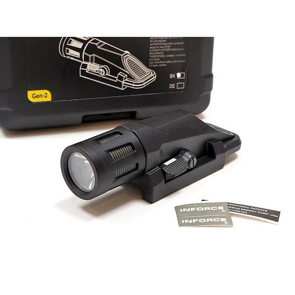 ハンドガンライト SOTAC製 INFORCEタイプ WML GEN.2 ウェポンライト LEDフラッシュライト|naniwabase|02