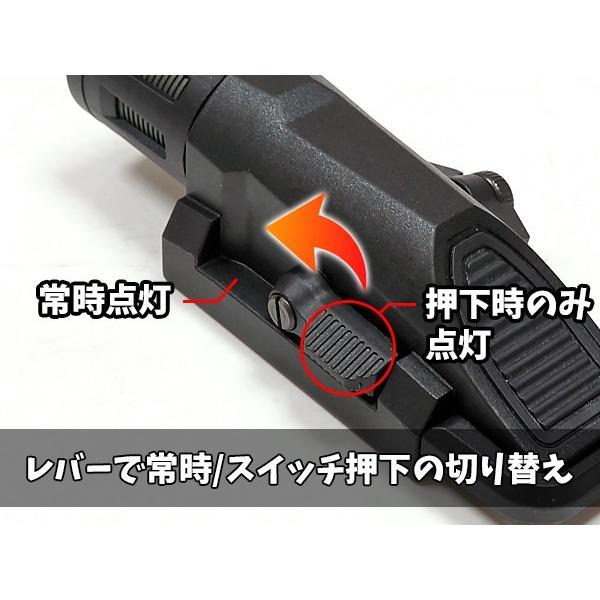 ハンドガンライト SOTAC製 INFORCEタイプ WML GEN.2 ウェポンライト LEDフラッシュライト|naniwabase|07
