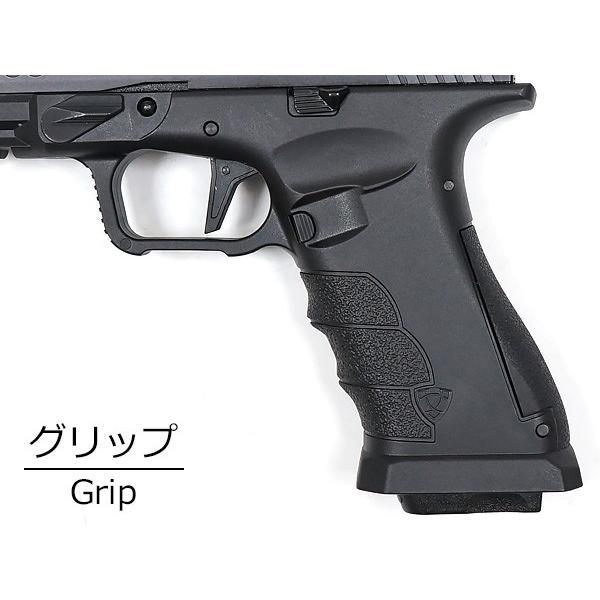 APS製 CO2専用 GBB SHARK.B-J シャーク ガスブローバック ハンドガン (セミ フル切替式) JAPAN Ver 日本規制対象品 naniwabase 07