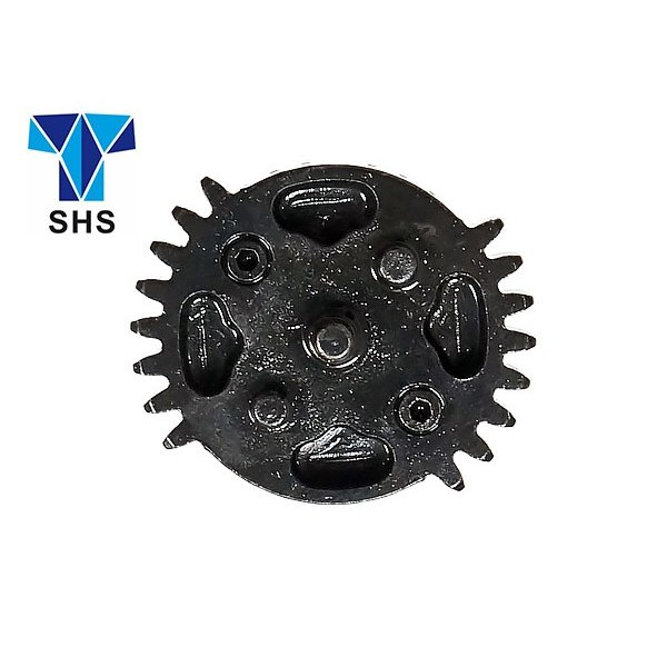 SHS製 電動ガン メカボックス Ver2用 ダブルセクターギア & タペットプレート 18:1 平歯 ギア 用 SHS-312 超ハイサイクルカスタムへ|naniwabase|02