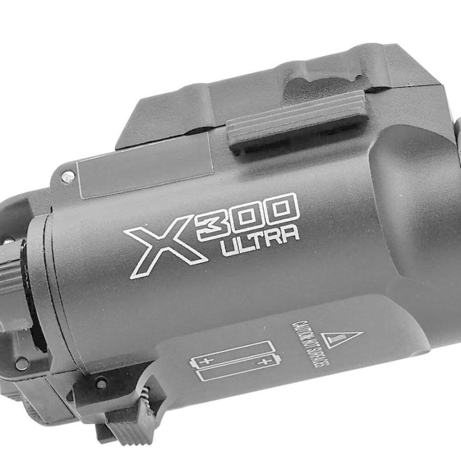 エアガン LED ライト SUREFIREタイプ X300 ULTRA フラッシュライト ハンドガン 20mmレイル 対応|naniwabase|11