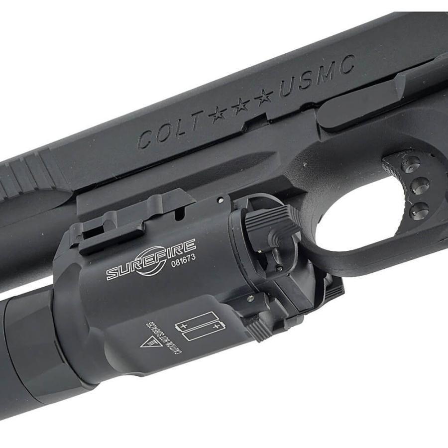 エアガン LED ライト SUREFIREタイプ X300 ULTRA フラッシュライト ハンドガン 20mmレイル 対応|naniwabase|19
