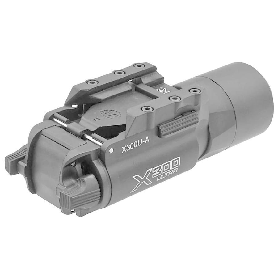 エアガン LED ライト SUREFIREタイプ X300 ULTRA フラッシュライト ハンドガン 20mmレイル 対応|naniwabase|08