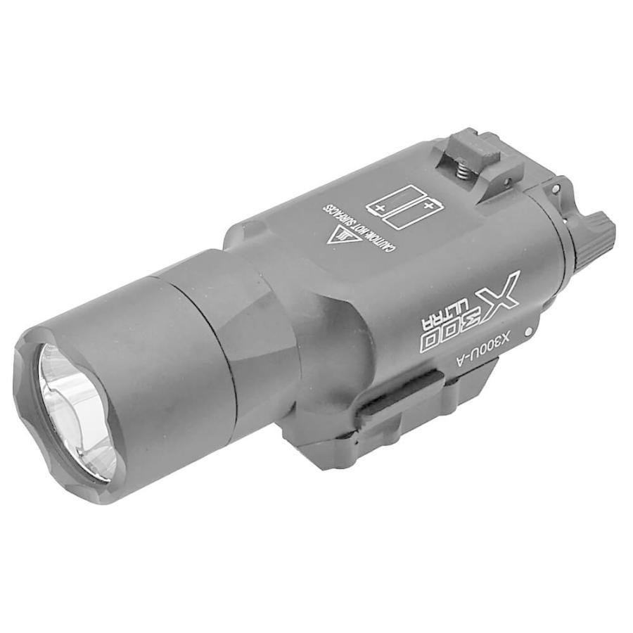 エアガン LED ライト SUREFIREタイプ X300 ULTRA フラッシュライト ハンドガン 20mmレイル 対応|naniwabase|09