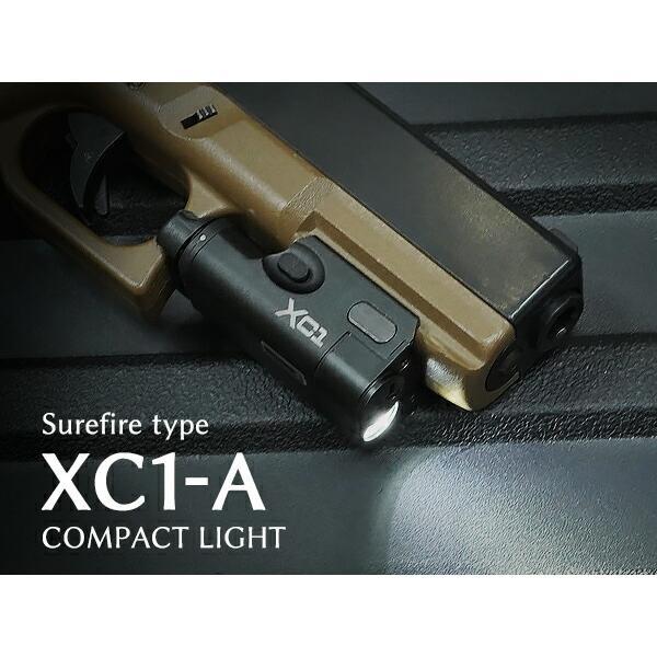 ハンドガンライト SUREFIREタイプ XC1-A ULTRA コンパクト LED フラッシュライト|naniwabase|02