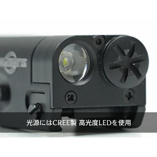 ハンドガンライト SUREFIREタイプ XC1-A ULTRA コンパクト LED フラッシュライト|naniwabase|11