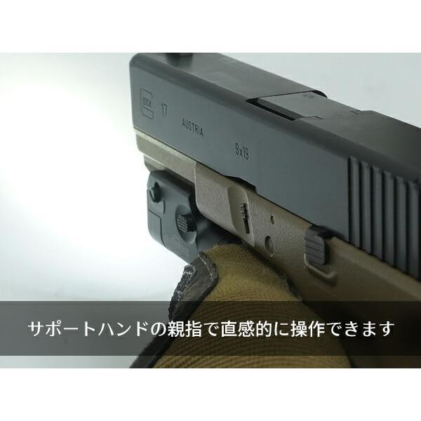 ハンドガンライト SUREFIREタイプ XC1-A ULTRA コンパクト LED フラッシュライト|naniwabase|20