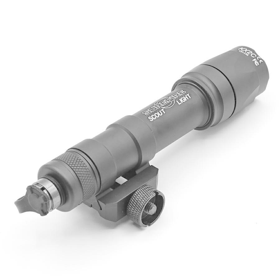 SUREFIRE タイプ M600C スカウトライト デュアルスイッチ 付き WD04007-BK-LOGO WADSN 製 naniwabase 04