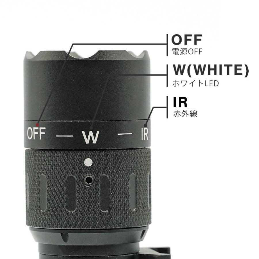 リアル 刻印モデル INSIGHT タイプ WMX200 ウェポンライト IR 赤外線 実物 CREE LED 使用 WNE04014 WADSN 製|naniwabase|04