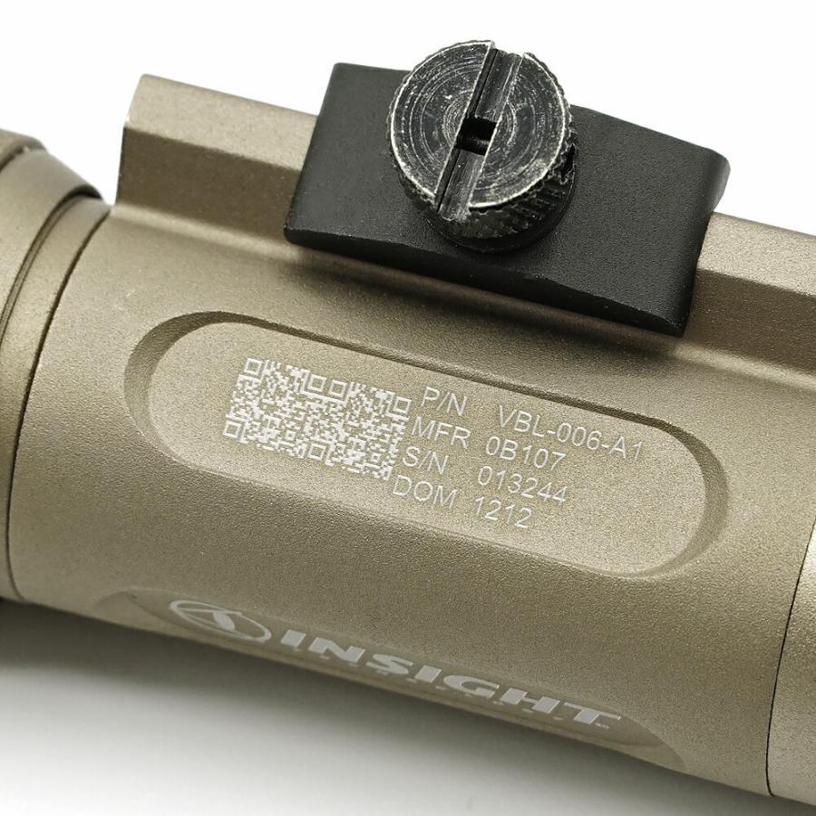 リアル 刻印モデル INSIGHT タイプ WMX200 ウェポンライト IR 赤外線 実物 CREE LED 使用 WNE04014 WADSN 製|naniwabase|06