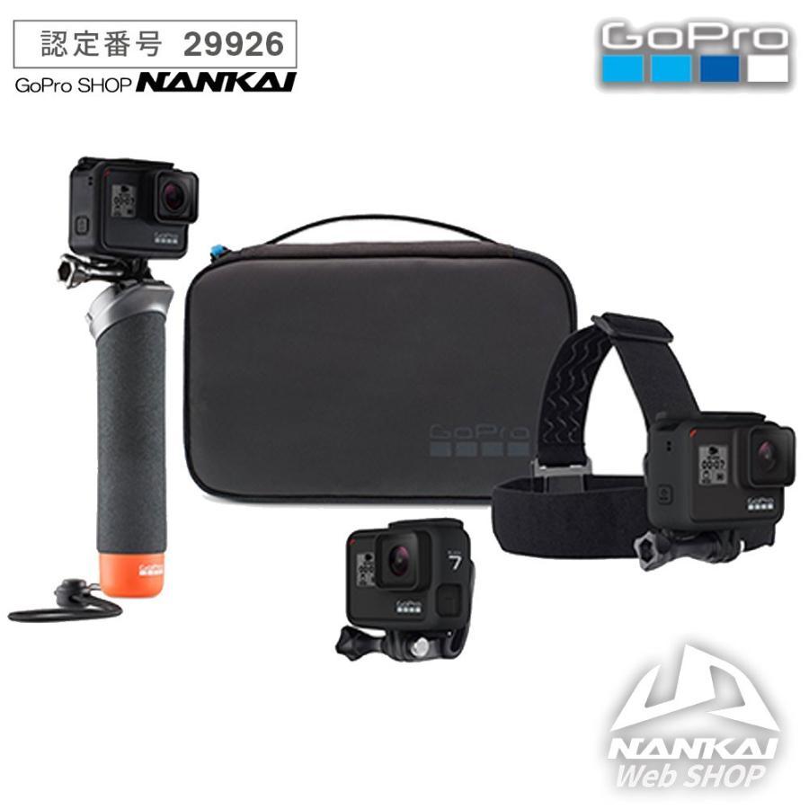 ウェアラブルカメラ (GoPro正規販売店) GoPro アドベンチャー キット AKTES-001 必須のマウントでパワーアップ nankaibuhin-store