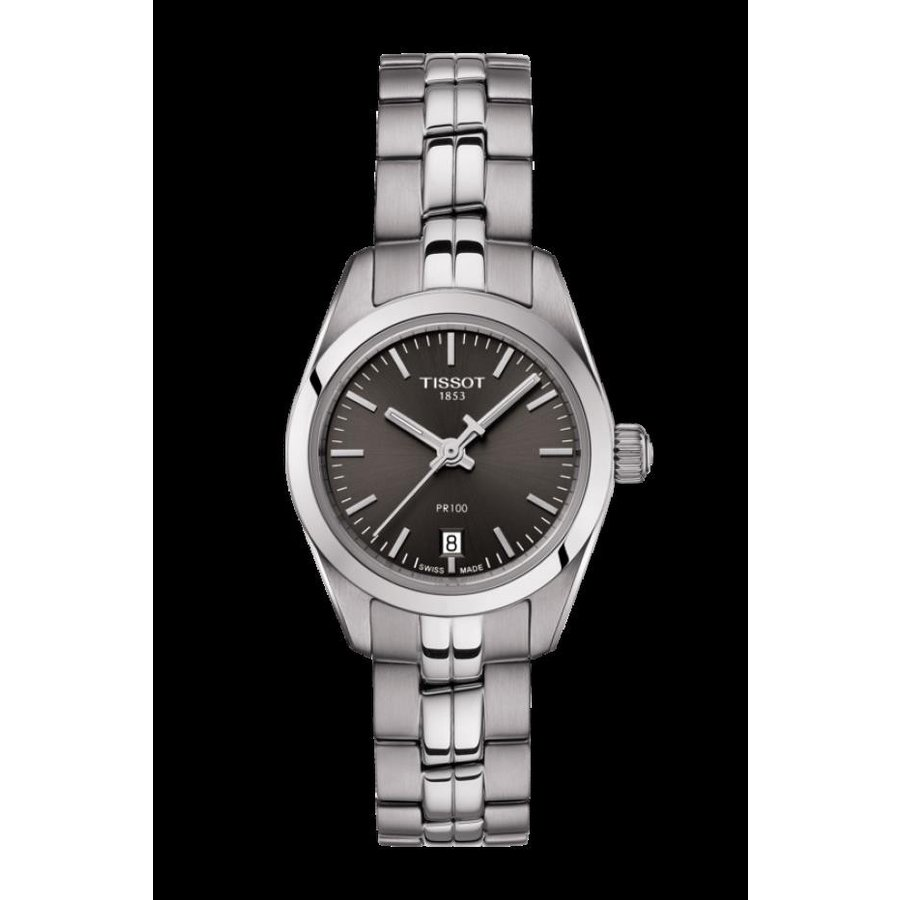 セール 登場から人気沸騰 ティソ Stainless 腕時計 Tissot PR 100 Watch Lady Small Stainless PR Steel Black Dial Watch T101.010.11.061.00, LEARNER'S BOOKS:e5ce43de --- chizeng.com