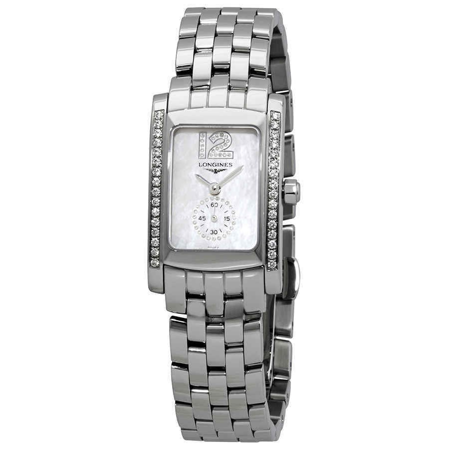 【T-ポイント5倍】 ロンジン 腕時計 Longines DolceVita Mini MOP Dial Stainless Steel Ladies Watch L5.155.0.85.6, ミシン専門店 ミシンランド f2acdeb9