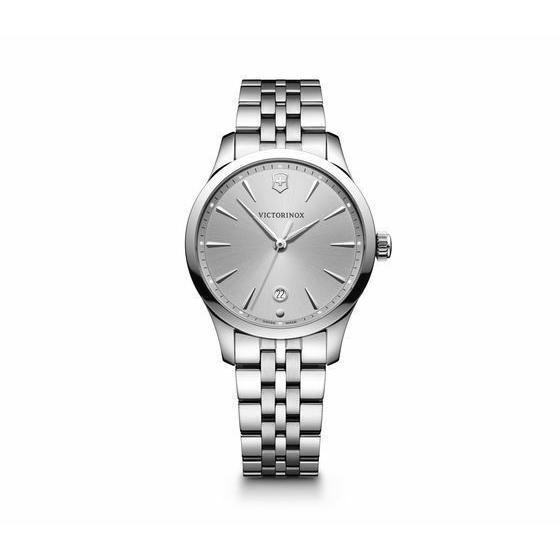 【激安大特価!】 ビクトリノックス 腕時計 Victorinox Alliance Small Stainless Steel Silver Dial レディース Watch 241828, イーアンドワイ 8132b65d