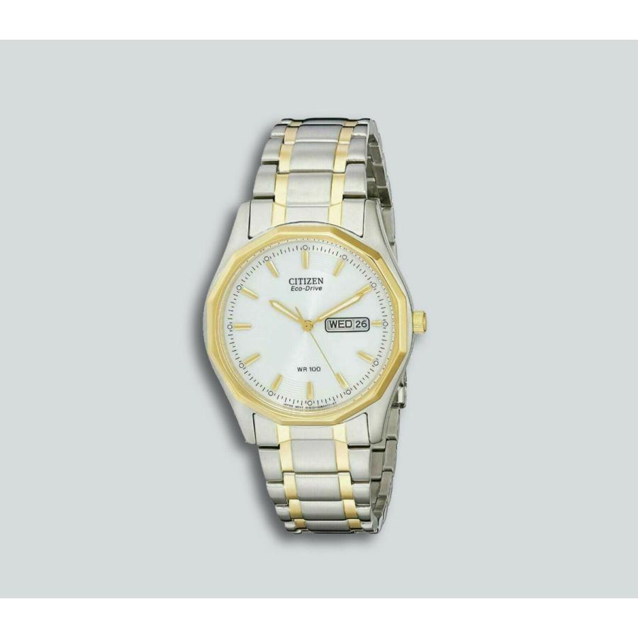 華麗 シチズン 腕時計 Authentic New Citizen Corso Eco-Drive エコドライブ Two-Tone Stainless Steel Watch EW3144-51, ブエングスト bdf19ce6
