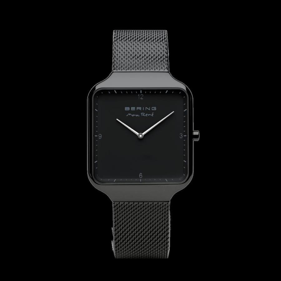 競売 ベーリング 腕時計 BERING Rene Max Rene 36mm Matte Black Milanese 15836-123 Milanese Strap ユニセックス Watch 15836-123, カクノダテマチ:f78d9af5 --- airmodconsu.dominiotemporario.com