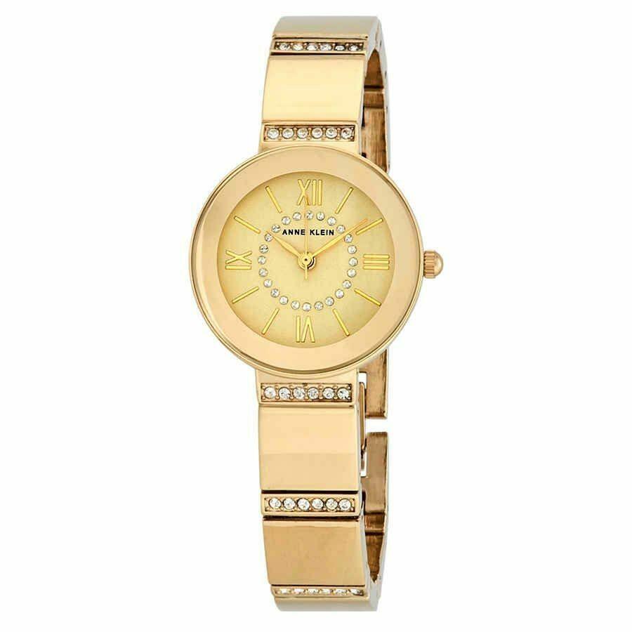 限定版 アンクライン 腕時計 AK/3190CHGB Anne Anne Klein Champagne Crystals Dial Ladies Ladies Watch AK/3190CHGB, 野津原町:3bc6127b --- sonpurmela.online