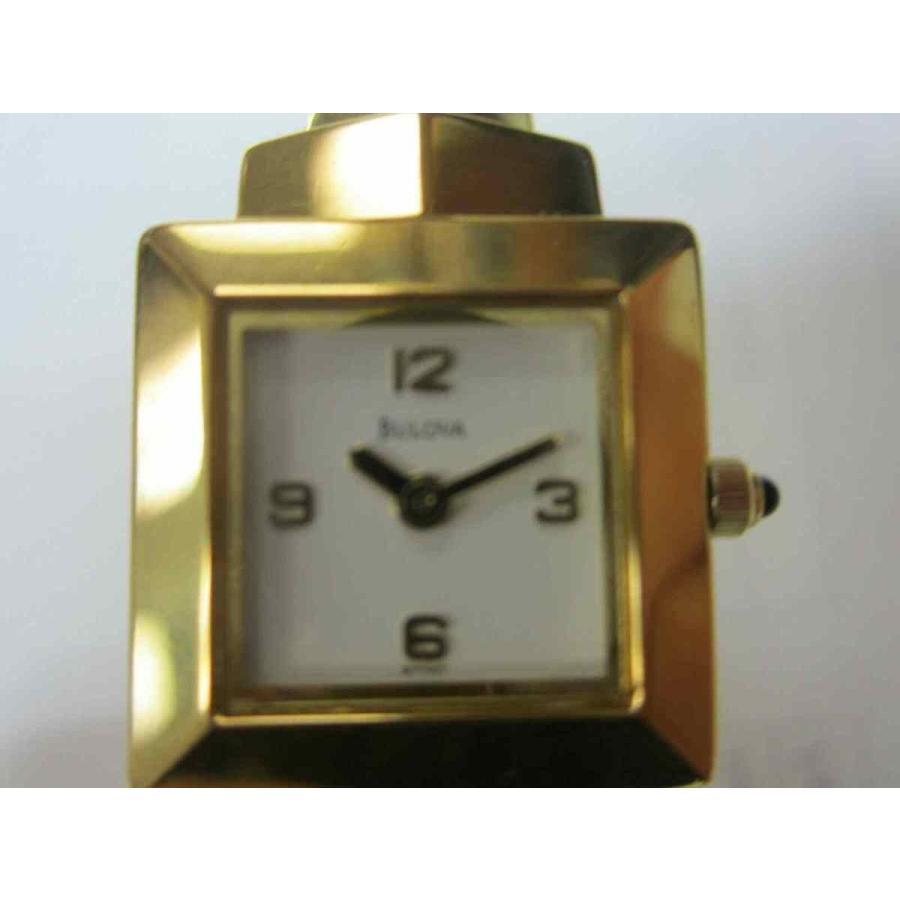 最大80%オフ! ブローバ 腕時計 BULOVA レディース WATCH クォーツ ALL S/S GOLD ORIGINAL JAPAN 97S47, 表札のサインデポ af02a759