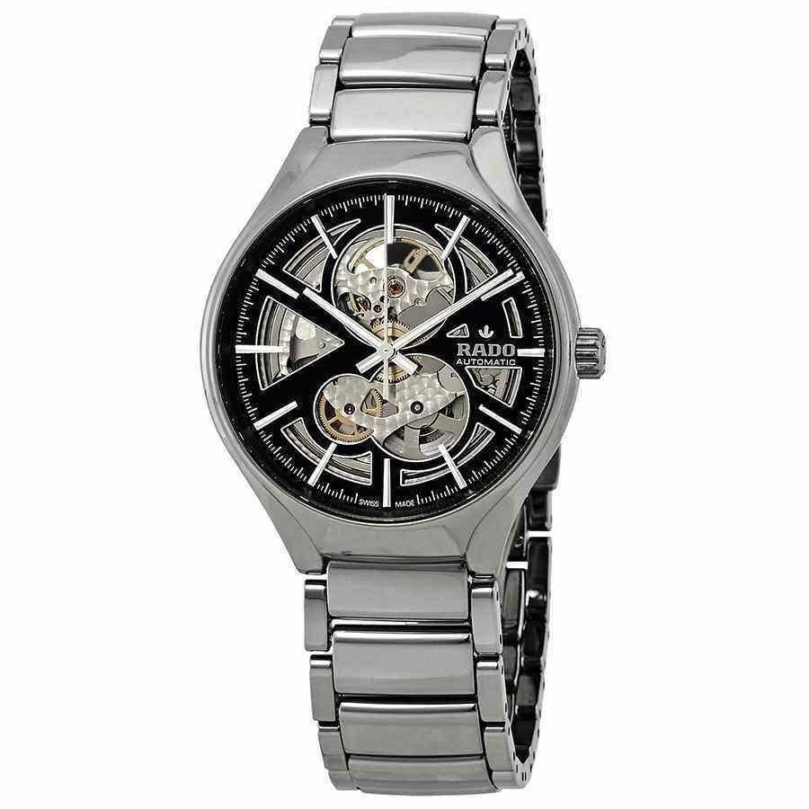 超人気新品 ラド― 腕時計 Rado メンズ True Automatic Open Open Heart Watch Black/Skeleton Dial メンズ Watch R27510152, 枡工房枡屋:066be902 --- airmodconsu.dominiotemporario.com