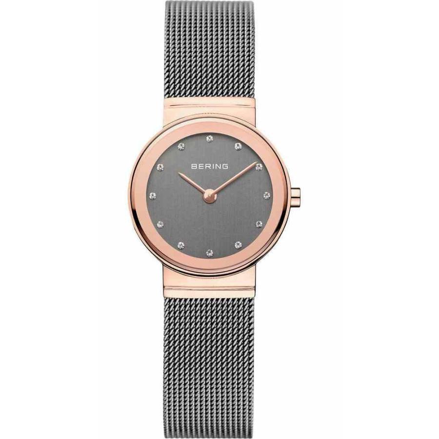 【一部予約!】 ベーリング 腕時計 Bering レディース Watch 10126-369 Analog Stainless Steel Grey, Haibiハイビー インターナショナル 756e38ab
