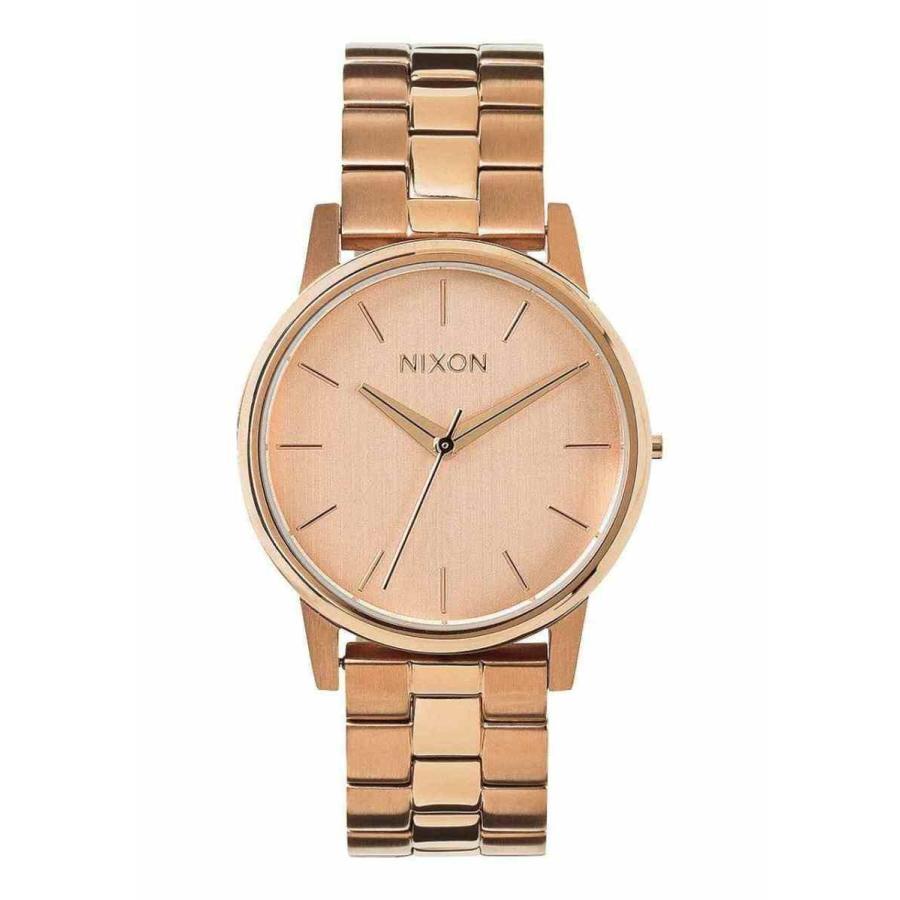 大人女性の ニクソン 腕時計 New Nixon Small Kensington レディース Watch All Rose Gold, Forever123 e79c5a6a