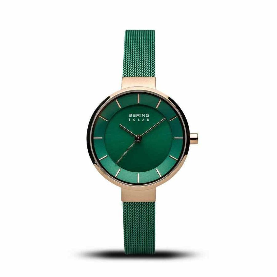 【当店限定販売】 ベーリング Montre 腕時計 Bering Femmes Montre Femmes Limitee Edition Edition Vert Rose 14631-CHARITY, 爆安!家電のでん太郎:0db2f941 --- sonpurmela.online