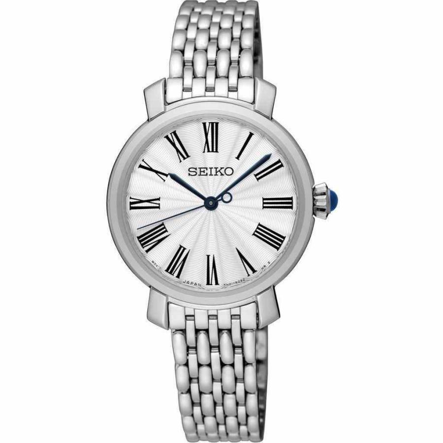 最新な セイコー 腕時計 Seiko SRZ495P1 Ladies Stainless Steel クォーツ 50m WR Dress Watch, 開放倉庫 42c0ab84