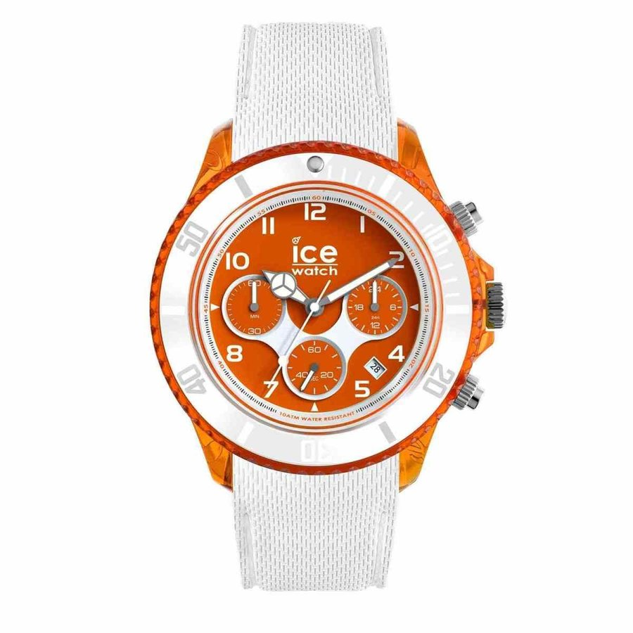 100%の保証 アイスウォッチ 腕時計 Ice-Watch - Ice Dune White ホワイト Orange red - メンズ Wristwatch with Silicon Strap - -, MAROON 5d7fc6b6