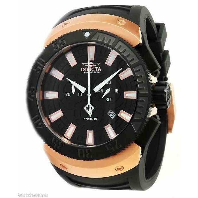 品揃え豊富で インビクタ 腕時計 Invicta 0661 メンズ Sea Scavenger Chrono Black Dial Watch インヴィクタ, DDintex bbd56fc4