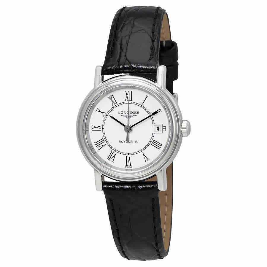 開店祝い ロンジン WatchL43214112 腕時計 Longines Presence ロンジン Automatic Automatic White ホワイト Dial Ladies WatchL43214112, 中津市:cb58a0ea --- airmodconsu.dominiotemporario.com