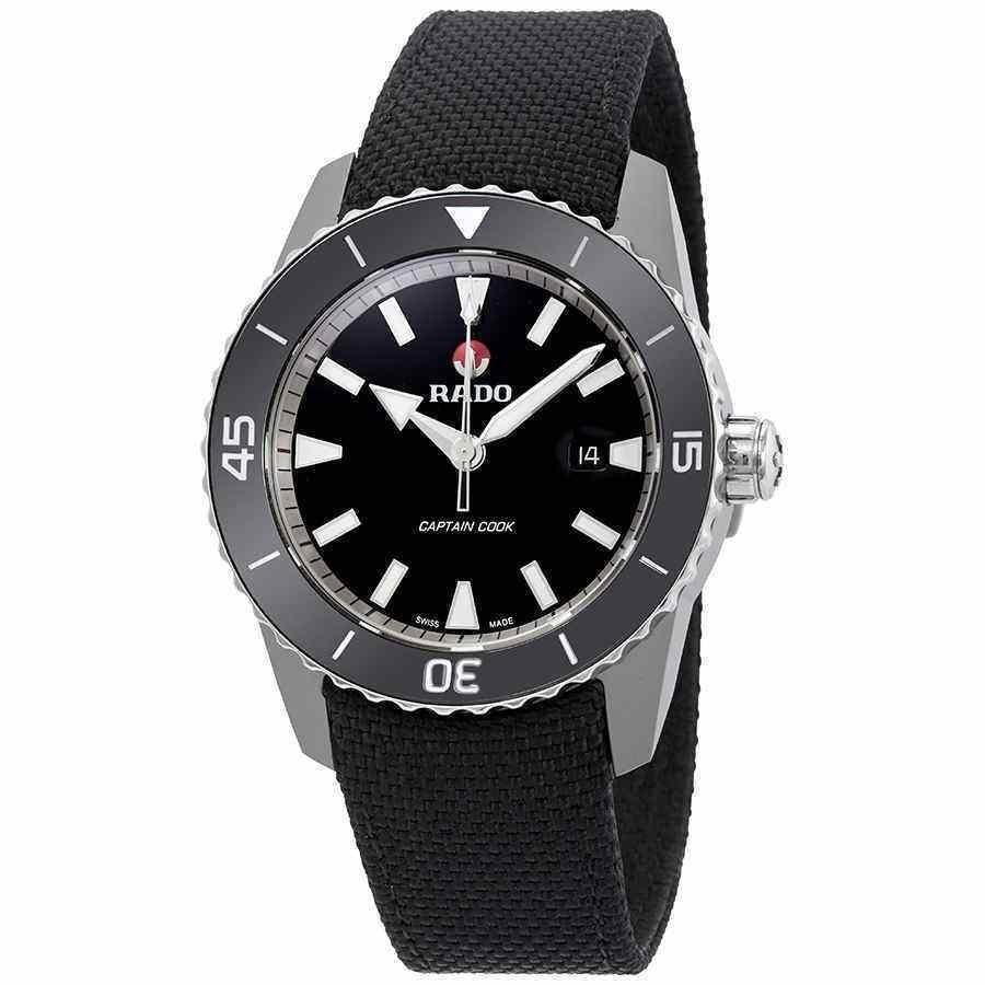 【特価】 ラド― 腕時計 Rado HyperChrome Captain Cook Automatic Captain Black Cook Dial Automatic メンズ Watch R32501156, ギターパンダのお名前シール工房:6f13ee4b --- airmodconsu.dominiotemporario.com
